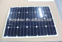 sunpower solar cells high efficiency 40w small size solar panel
