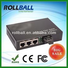 10/100m cwdm dual fiber to ethernet media converter