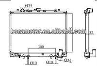 MR281023 Auto Radiator for MITSUBISHI L200 K74 model 4D56