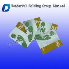 Wonderful design foil mini tea bag/Customized mini tea bag heat sealed