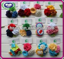 Wholesale Cheap Christmas Hairbands Elastic Baby Flower Headband