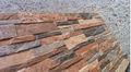 Azulejo de piedra artificial para el exterior y el interior de la pared/de imitación de piedra del azulejo