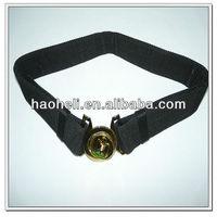 50mm black pp military belt,army military belt