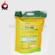 custom printing food plastic bag rice bags bulk purchase