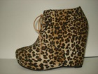 casual ladies High-heeled shoes 2013 leopard