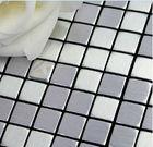 Aluminium Mosaic Tile, Aluminium Mosaic Brushed, Glass and Metal Mosaic Tiles