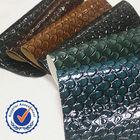 High light crocodile skin china eco leather A1399