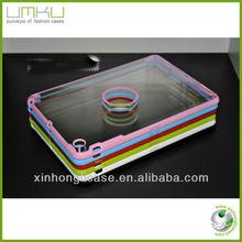 PC+TPU transparent case for ipad mini,for ipad mini crystal case cover