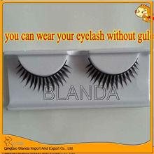 New products wear it no need gule false eyelash /eyelash extension