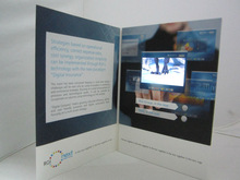 digital video greeting card 4.3inch LCD screen,digital video business card