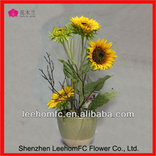 Nearly Natural Liquid Illusion artificial sunflower plants