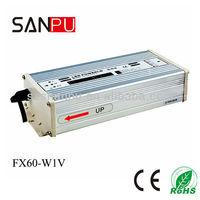 60w 12v constant voltage led strip driver for strip light