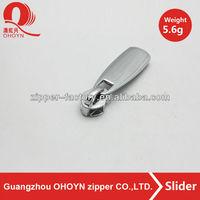metal zipper slider puller, zip slider pull for bag/luggage/cloths