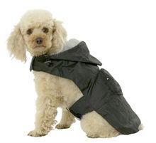 100% Polyester Winter Dark black Jumpsuit dog clothes vest for dog