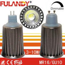 Shenzhen led factory CE&RoHS List high power mr16 GU10 LED 7w 3 years warranty