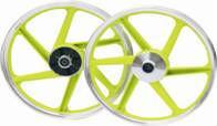 Green Motorcycle wheel rim .Sport rim for motorcycle