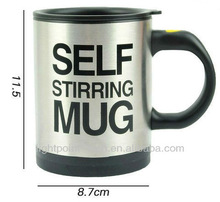 Automatic Mixing Cup Automatic lazy stainless steel Self stirring mug electric Automatic coffee stirring cup