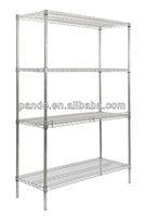 4 layers heavy duty kitchen stainless steel shelves storage rack kitchen display rack