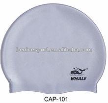 silver nice swimming cap,colorful silicon swimming caps,hot selling silicone swimming caps