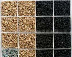 2-4 diameter Black rubber granules for Artificial grass