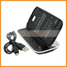 Mobile Phone Bluetooth Keyboard Case for Samsung Galaxy S4 Bluetooth Keyboard
