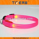 2015 Hot selling Pets Accessories TZ-PET2110F Led Flash Light Dog/Cat Collar