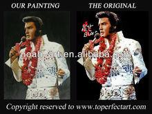 Handmade famous people portrait oil painting of custom025