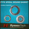 spiral wound gasket with outer ring, spiral wound gasket ring, spiral wound gasket with inner ring