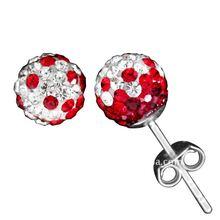 Silver Stud Earring Ball
