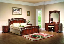 Classic bedroom furniture Bed, Night Stand, Dresser
