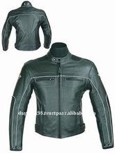 DL-1180 Jacket , Leather Motorcycle Jacket , Racing Leather Jacket