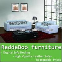HOT!!! The latest design leather sofa set S1026#