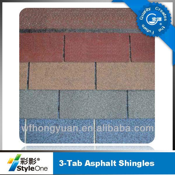 asphalt roof shingle(low coat, high quality)