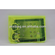 Hot selling Neon green clutch bag for women