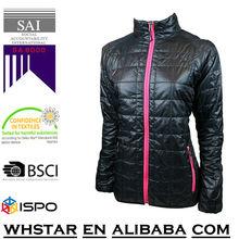 High Quality Stylish ladies winter padding jacket