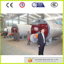 industrial natural gas burner hot water or steam boiler for hotel hot water or heating supply