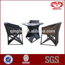 Rattan furniture new design patio furnitur
