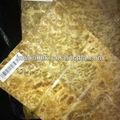 الذهبي الطبيعي كافور القشرة الخشبية العقدة------ المهنية مورد الخشب الرقائقي القشرة