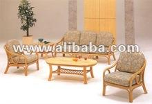 Elegant cane furniture