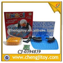 Cheap plastic game set custom bingo cards