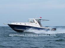 Fiberglass 12M Sport Fisher Pleasure Yacht