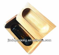 latest design single bottle wooden essential oil box
