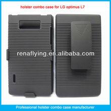 belt clip cell phone for lg optimus L7,P705 holster combo case