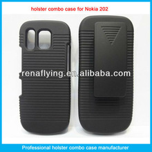 belt clip cell phone for nokia 202 holster combo case