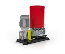 Grease lubrication pump