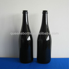 BLACK COLORED CHAMPAGNE BOTTLES