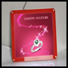 hot sale! POP acrylic logo light sign /acrylic display/acrylic
