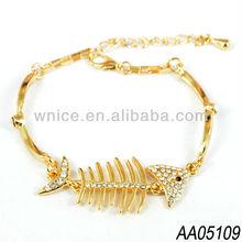 2013 nice wnice fishbone jewelry bracelet manufacturer,China Yiwu jewelry supplier