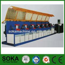 Soka brand 2013 high Speed Straight Line solder wire making machine(factory)