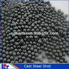 blasting abrasive cast steel shot S230